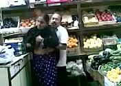 Image Horny desi husband fucking in super market