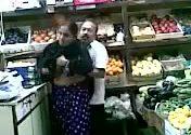 Image Horny desi husband fucking in super market