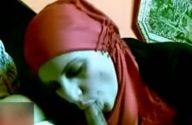 Image Muslim bhabhi sucking her car driver's lund