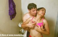 Image desi couple having sex fantasy in hot water shower