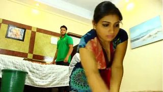 Indian Maid gets seduced by the Owner
