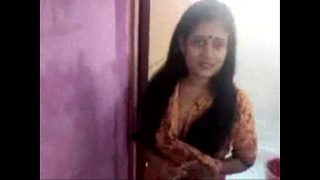 Indian Bhabhi Teasing Devar in Bathroom
